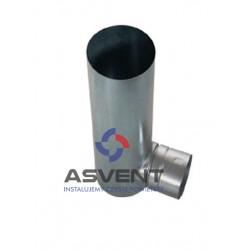 Skrzynka rozprężna 1x75 mm pod anemostat 100 dł. przyłącza 320 mm