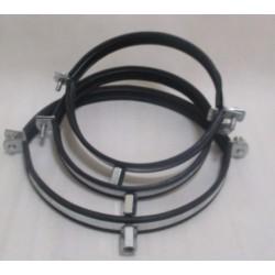 Obejma do rur okrągłych SPIRO 100 mm z amortyzacją