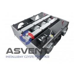 Centrala wentylacyjna podwieszana z wymiennikiem obrotowym bez nagrzewnicy elektrycznej wtórnej  AMBER 1OP-800-0
