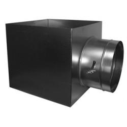 Skrzynka rozprężna 370x370 izolowana SR-HB40 + I