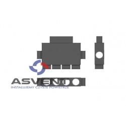 Rozdzielacz rurowy ośmio-króćcowy 6x75mm/50x200mm