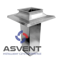 Podstawa dachowa prostokątna PDQ-ALL 400x400