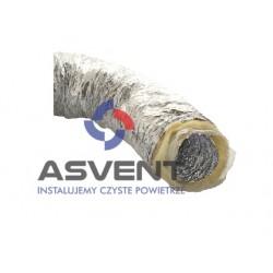 Przewód, kanał izolowany Izotherm/Sonotherm Φ 125/10mb 140°C